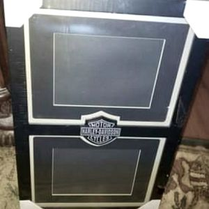 Harley Davidson double picture frame 5×7 with matt
